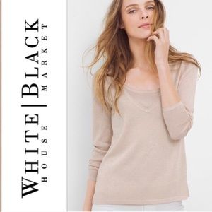 WHBM Pullover & Camisole Sweater Set